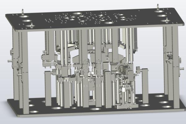 Tank calibration fixture